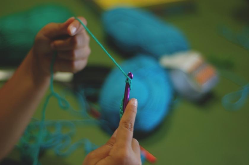 Crochet (14) - mint